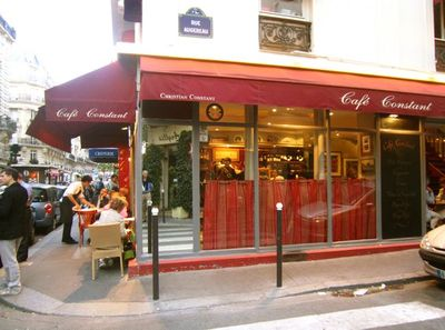Paris cafe constant