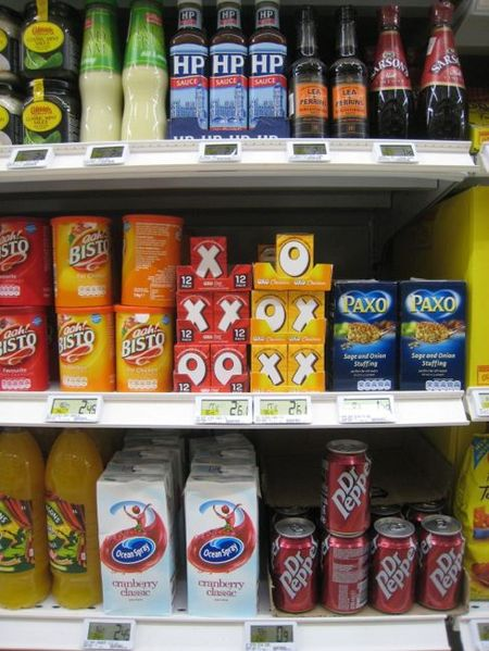 Hit and Miss: French Grocery Stores Go Anglo - Southern