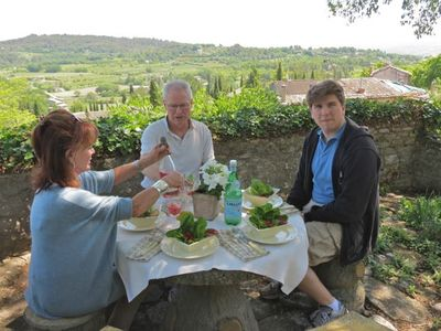 Provence lunch
