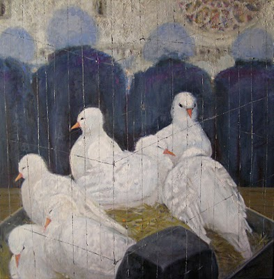 Bird Market at Notre Dame
