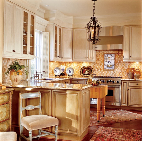 Classical French Kitchen Refit: The French Country Kitchen, American Style